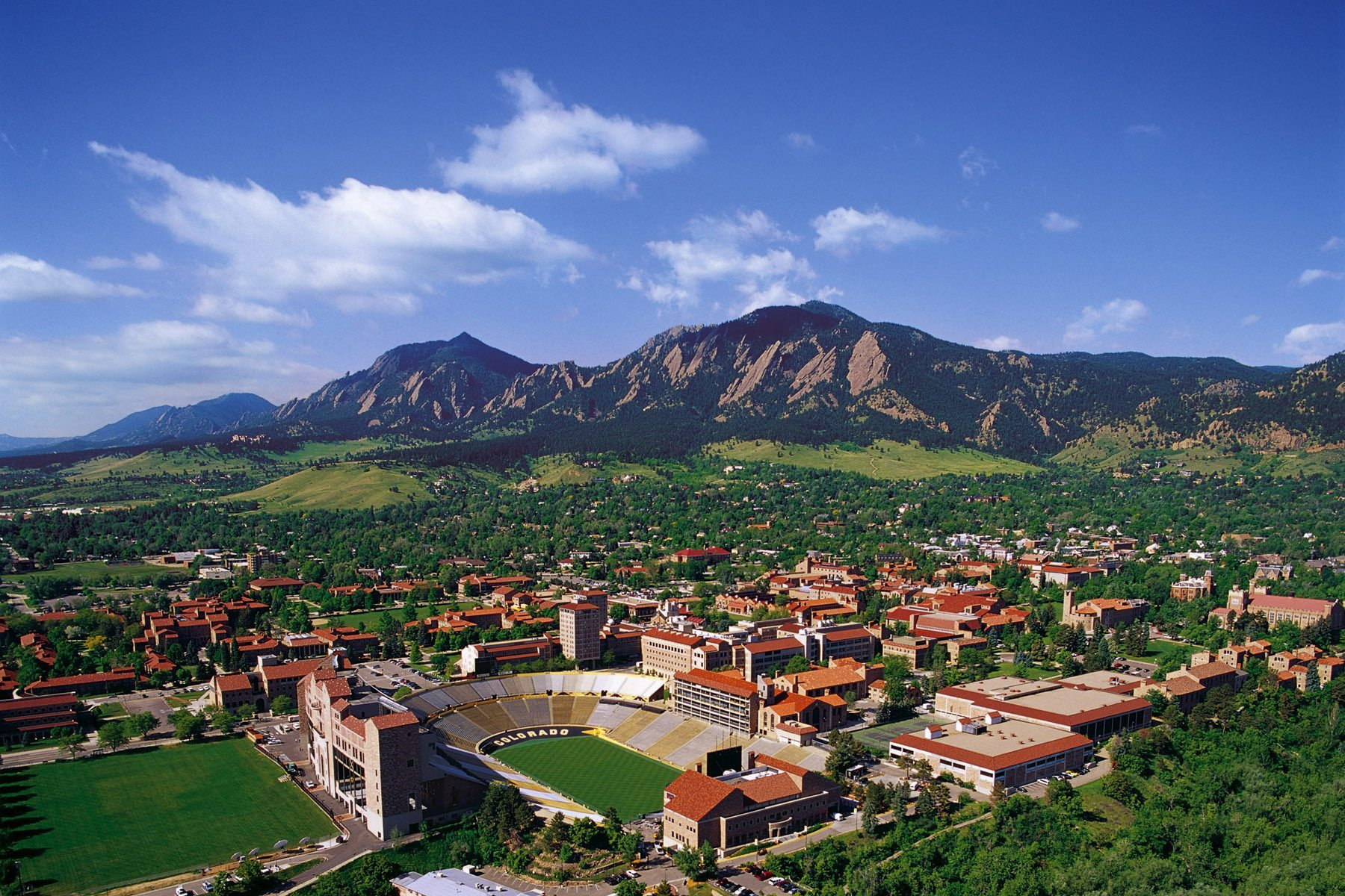 University of Colorado Campus Overview