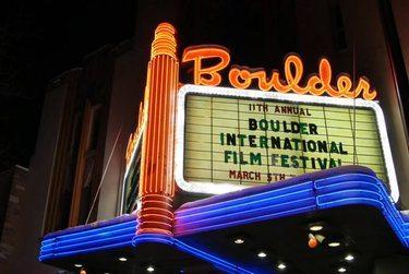 Boulder Theater Marquis says Boulder International Film Festival